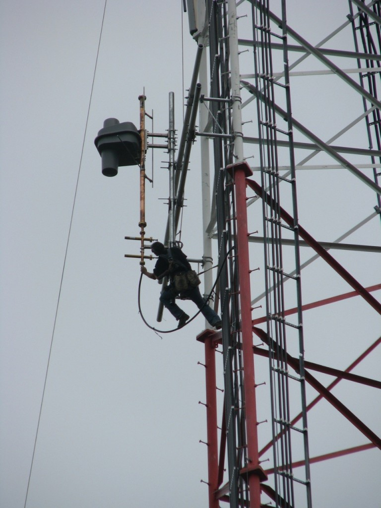 WHFW Tower Install